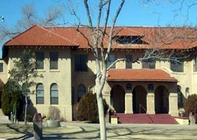 Menaul Historical Library. located in Bennett Hall on the Campus of Menaul School in Albuquerque, NM
