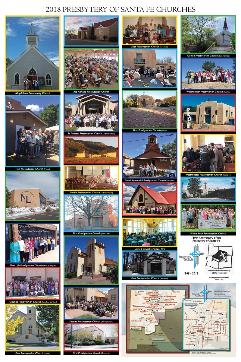 2018 PRESBYTERY OF SANTA FE CHURCHES - Poster 2